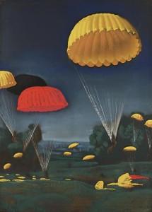 430px-Parachutes_Art.IWMARTLD1259
